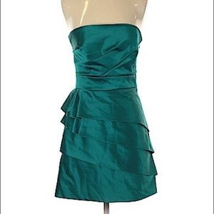 Gorgeous BCBG Paris Green Strapless Dress Size 2